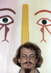 Quasar & His Painting-LA 1982